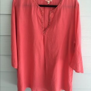 Eileen Fisher Tunic with a Touch of Glitter